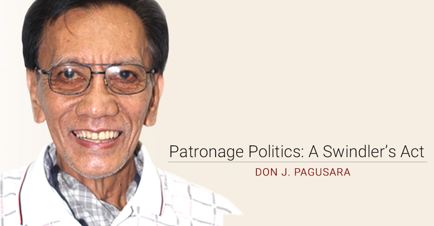 Patronage Politics: A Swindler's Act