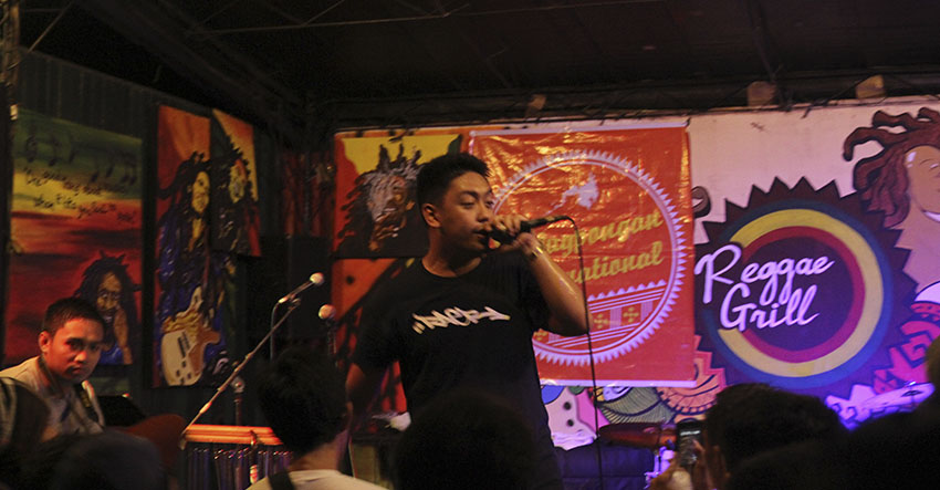 Rapper BLKD dedicates first performance in Davao City to Lumad children