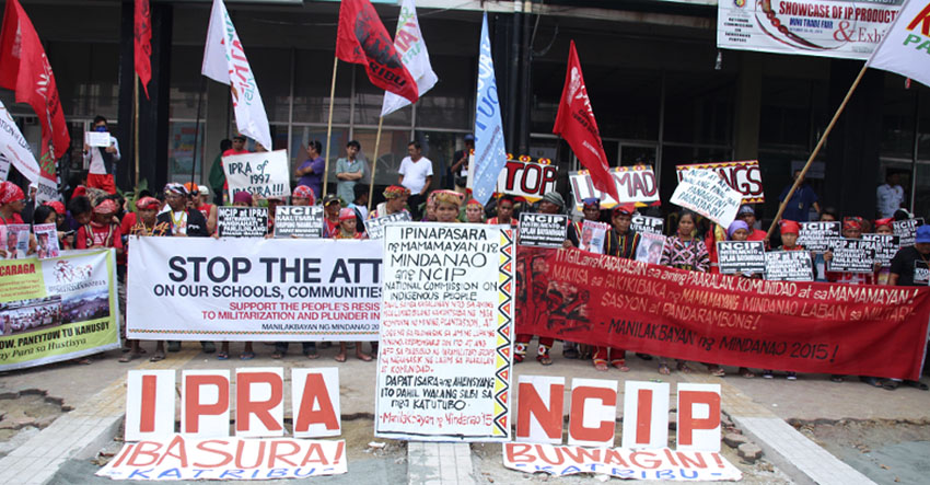 Manilakbayan protesters want NCIP closed; NCIP says it is nothing new