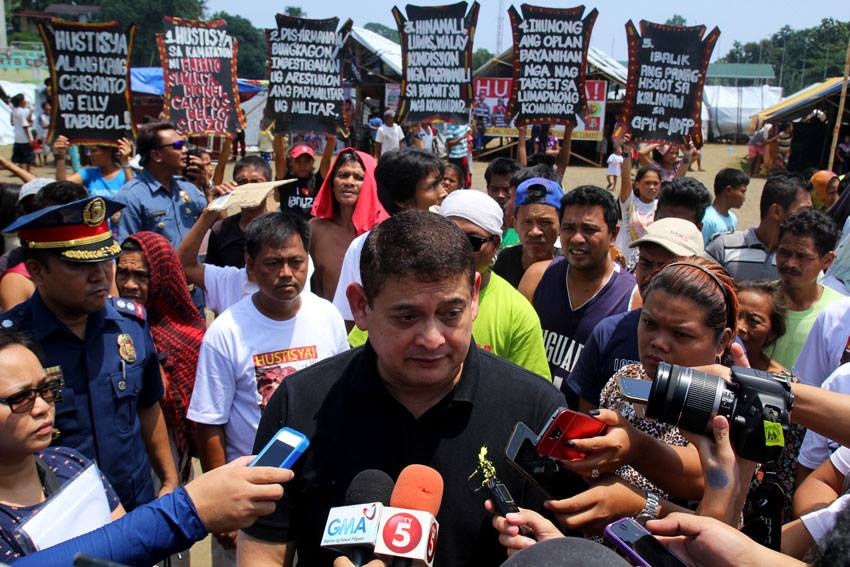 IN PHOTOS | Senate probes on Lumad killings in Mindanao