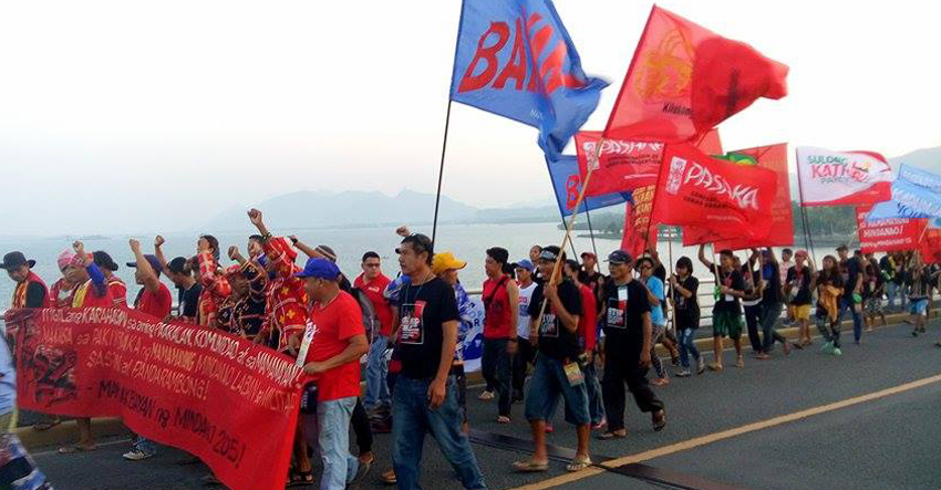 Manilakbayan human rights caravan heads to Luzon