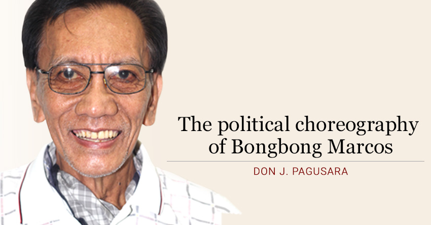 The political choreography of Bongbong Marcos