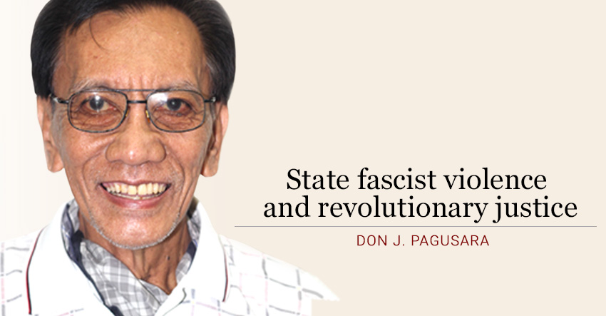 State fascist violence and revolutionary justice