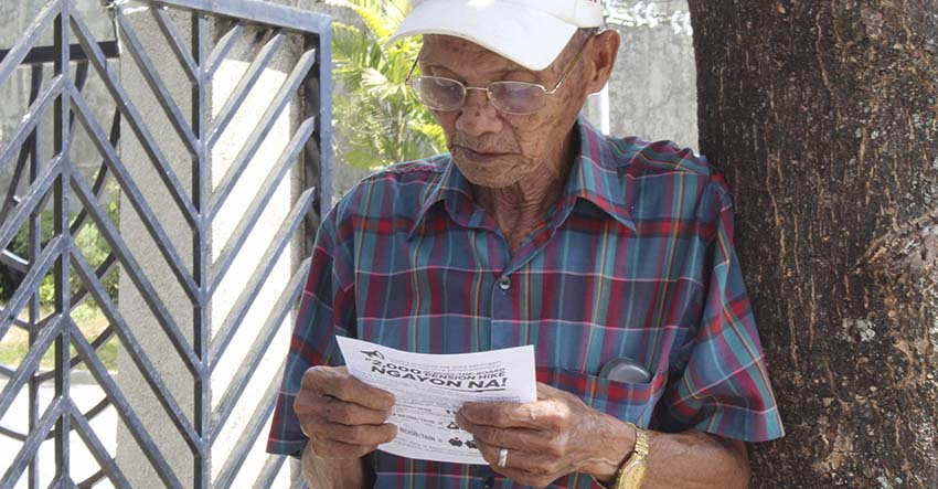 For the last time, Davao's elderlies hope PNoy's pension hike veto quashed