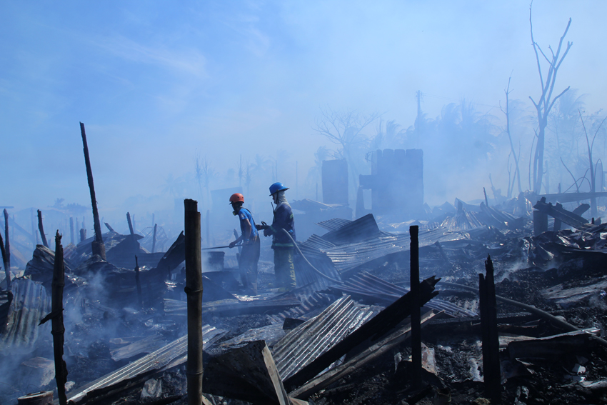 Urban poor most vulnerable to fire, but inspections cannot be done