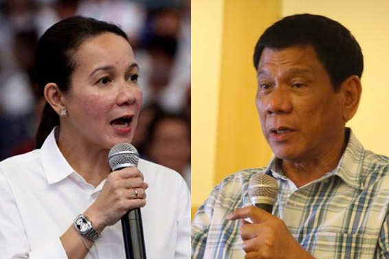 Poe, Duterte share stand on mining in Davao forum