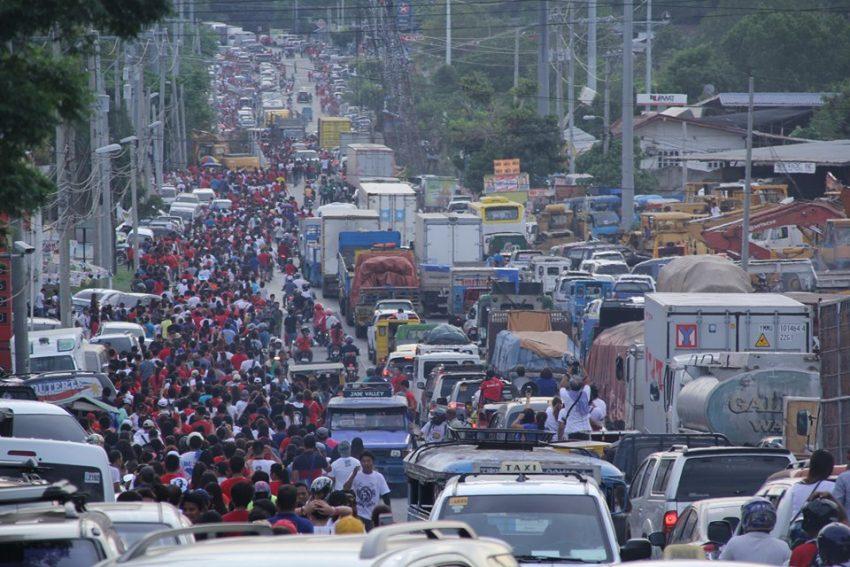 CTTMO bares traffic plan for Duterte's thanksgiving party