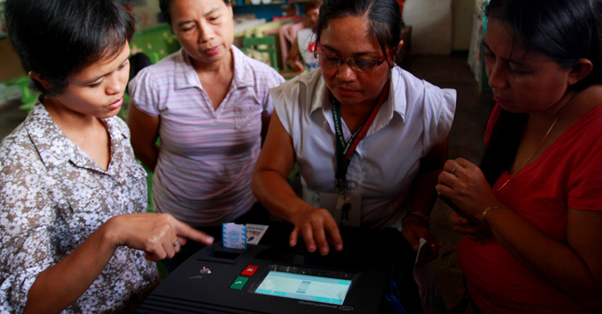 BEIs run tests on vote counting machines