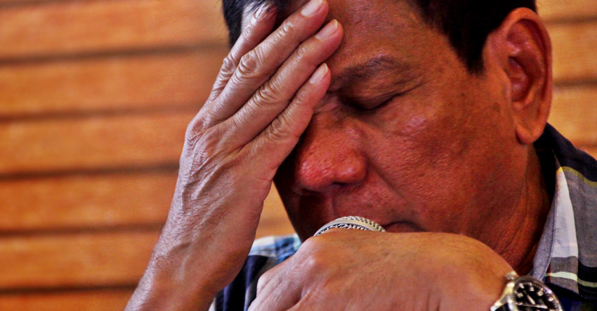Duterte: If I can go back in time, I would not run for President