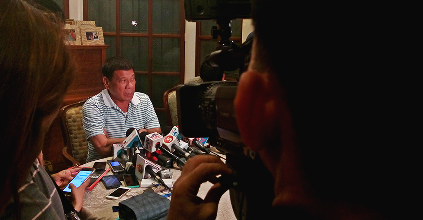 Incoming President Rodrigo Duterte vows to release political prisoners to resume peace talks with the National Democratic Front of the Philippines. (Earl O. Condeza/davaotoday.com)