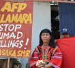 PHOTOS | Lumads rally in front of Army camp in Davao City