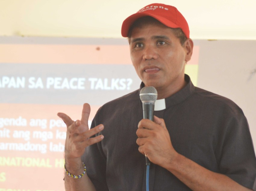 PEACE TALKS 101: Group launches lecture on GRP-NDF peace talks