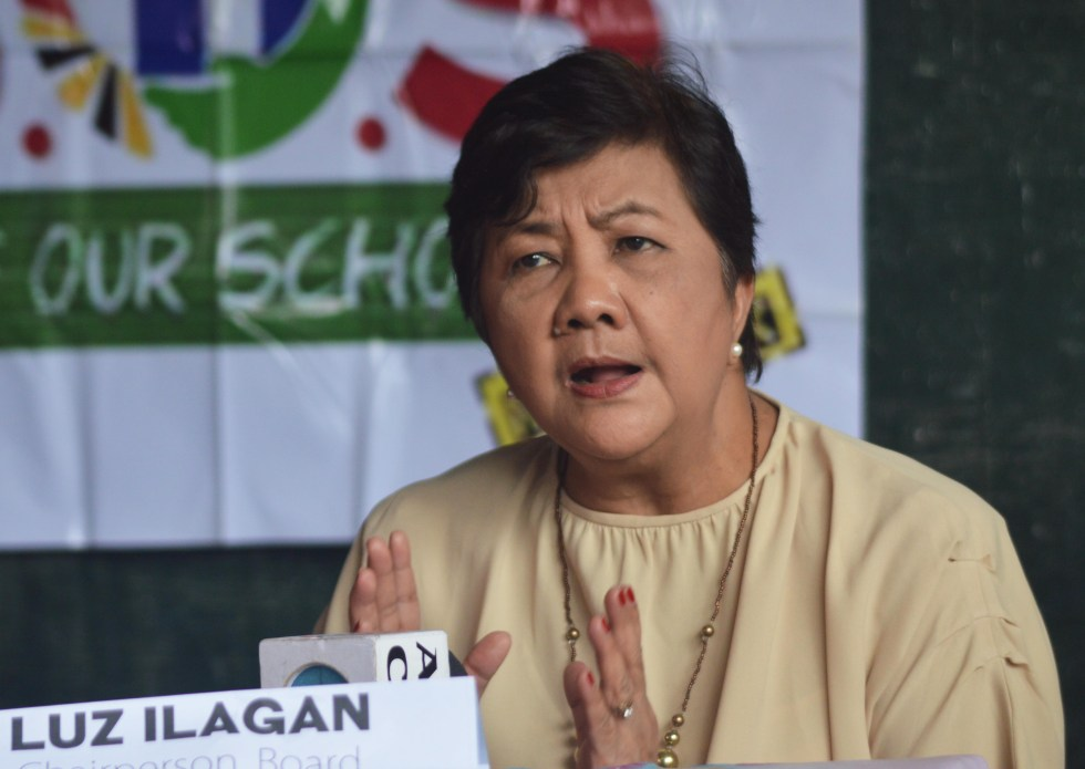 Board of Director Chairperson Luz Ilagan of the Salugpungan Ta Tanu Igkanugon Learning Center, Inc. in Mindanao questions the arrest of one of their teachers, Amelia Pond. Pond was arrested by the Criminal Investigation and Detection Group in Cebu City on Friday, August 19, 2016. Ilagan said the arresting agents allegedly refused Pond to read her warrant of arrest. (Medel V. Hernani/davaotoday.com)