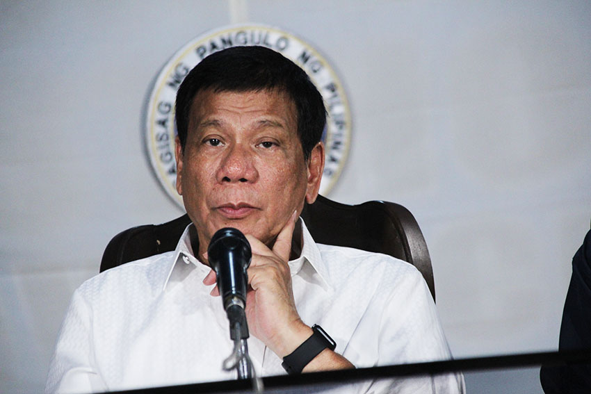 Duterte: Release of detainees my last card