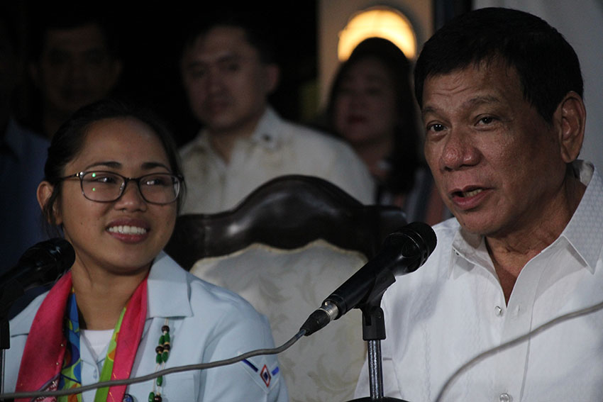 Duterte: sports facilities to be put up in provinces