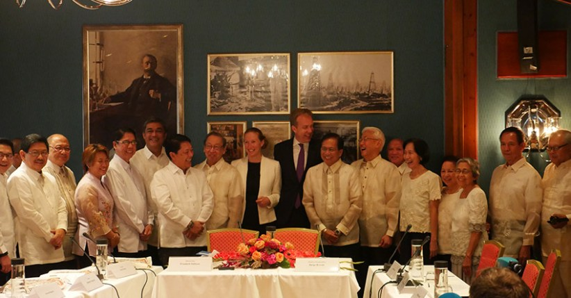 Both negotiating panels of the Government of the Philippines and the National Democratic Front expressed optimism on the resumption of the formal talks which opened on Monday, August 22, in Oslo, Norway. (Photo by Kodao Productions)