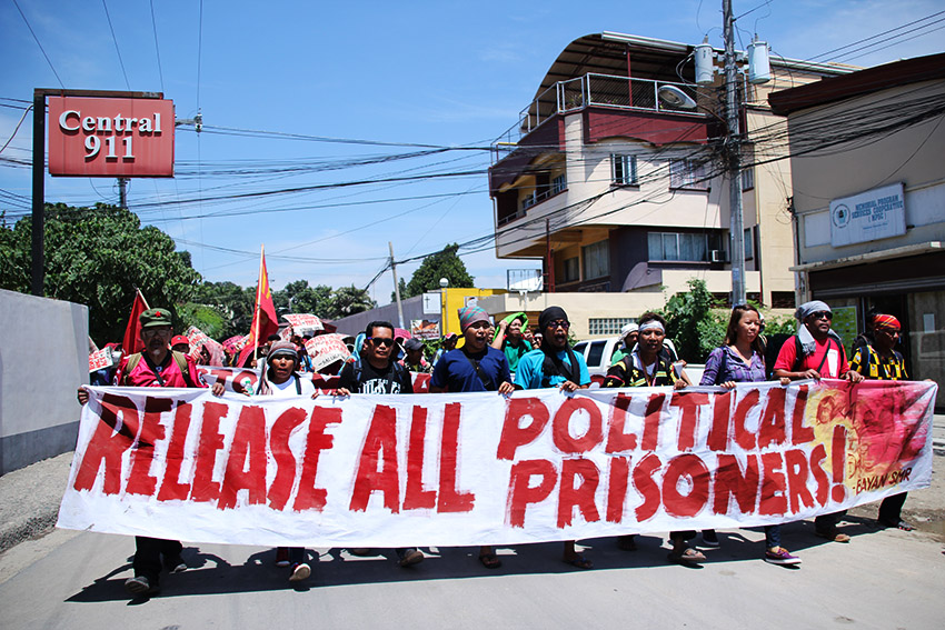 PHOTOS | IP, farmers call for release of all political prisoners