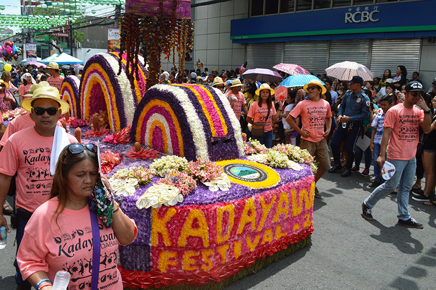 The Pamulak sa Kadayawan is an annual parade of floral floats during the week-long Kadayawan sa Dabaw festival. Civic organizations also join the parade held in downtown area Davao City on Sunday, August 21, 2016.