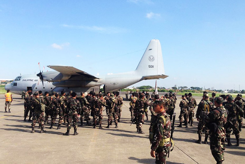 Army sends elite troops to Sulu to fight ASG