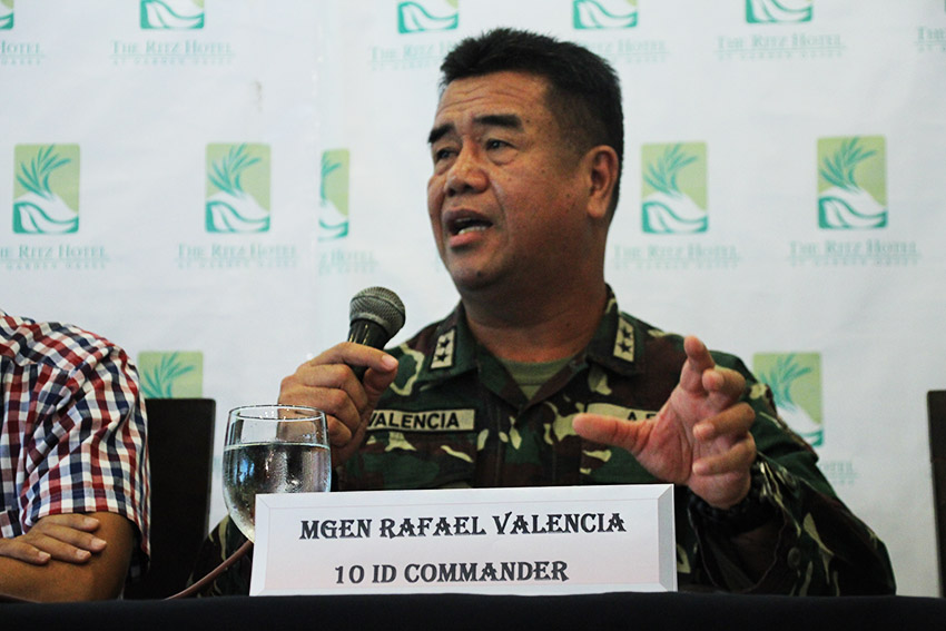 16 DRUG POSITIVE TROOPS. 10th Infantry Division Commander Major General Rafael Valencia says that among the 2,047 officers, enlisted personnel, and Cafgu auxiliaries subjected to random drug testing, 16 tested positive for drug use. He said 12 of whom have already been terminated from service and the remaining four are undergoing discharge proceedings. (Paulo C. Rizal/davaotoday.com)