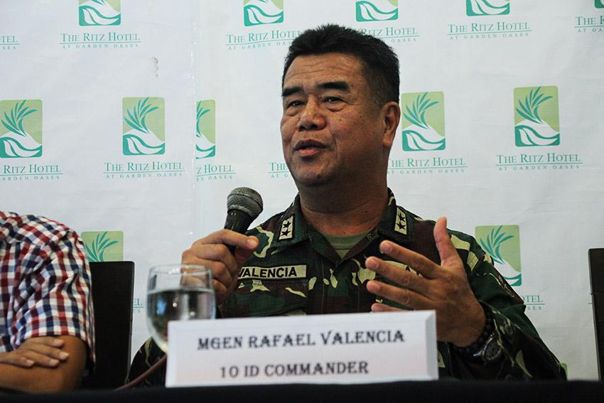 Major General Rafael Valencia, 10th Infantry Division Commander (Paulo C. Rizal/davaotoday.com)