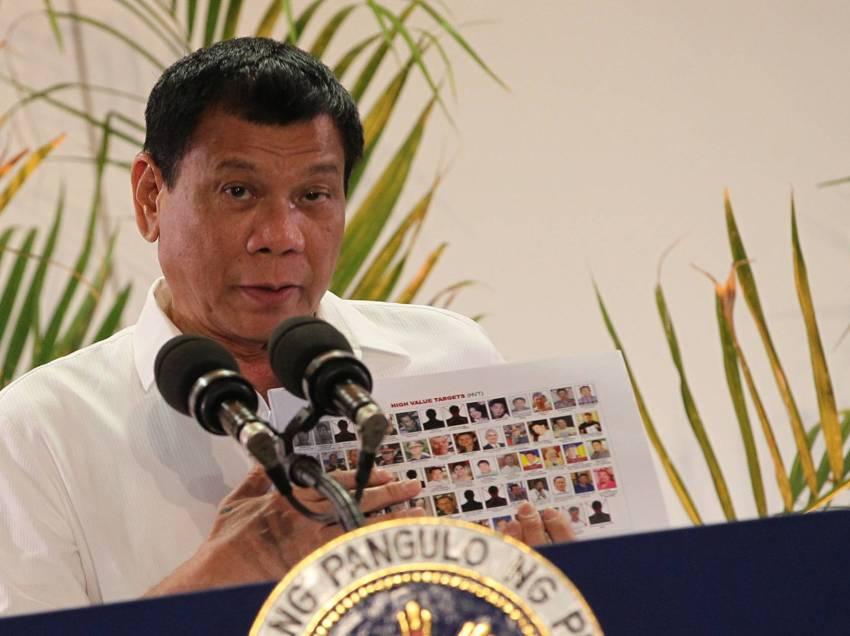 Duterte to HRW, Catholic church: Killings will go on until last drug addict is dead