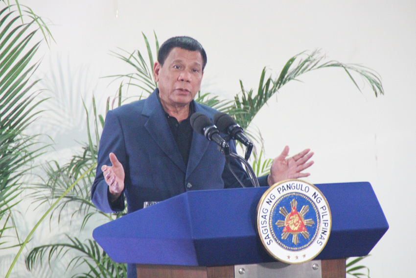 President Rodrigo Duterte announced that he signed 13 agreements  with the Chinese government as the Philippines rekindled its friendship with Asia's giant. (Earl O. Condeza/davaotoday.com)