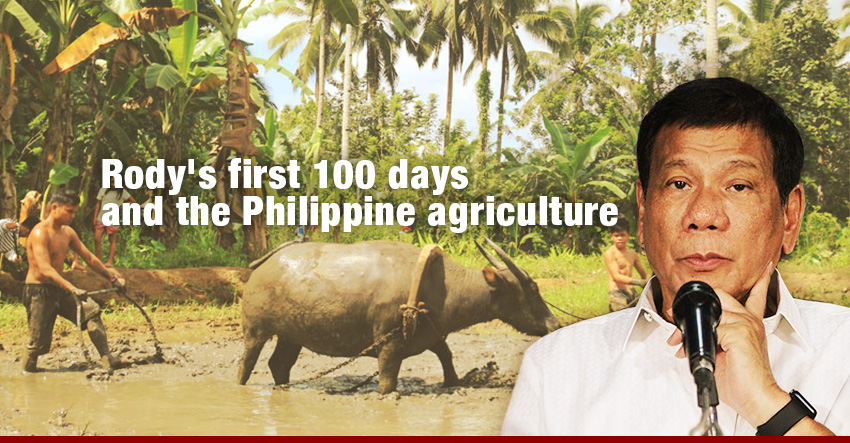 Rody's first 100 days and the Philippine agriculture