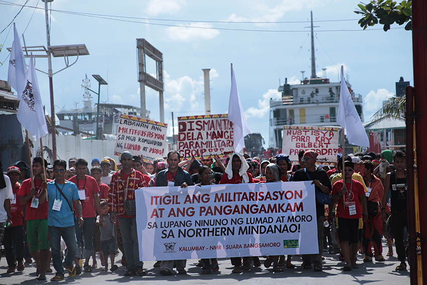 PHOTO ESSAY | IP, Moro peoples' caravan to the capital