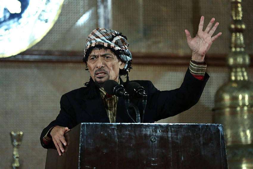 Misuari to form 5-member panel to negotiate with gov't