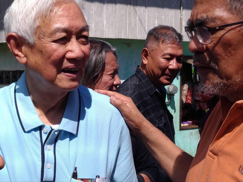 NDF Senior Adviser Luis Jalandoni and DILG Secretary Ismael Sueno
