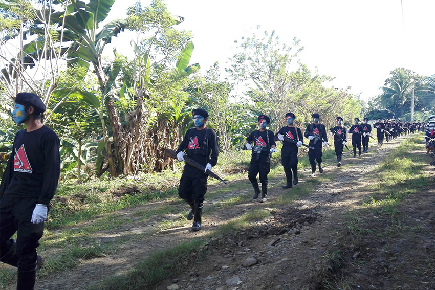 Mt Alip command front 72 of the Far South Mindanao region (contributed photo by Kath Cortez)