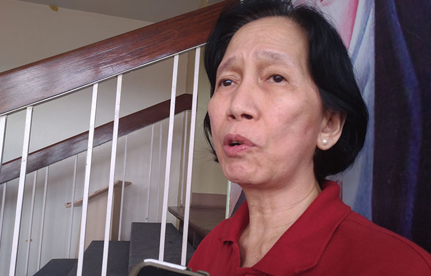 Wilma Tiamzon: Do not use political prisoners as bargaining chip