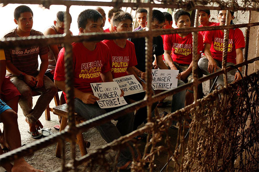 Agcaoili: 39 released, 39 arrested political prisoners under Duterte admin