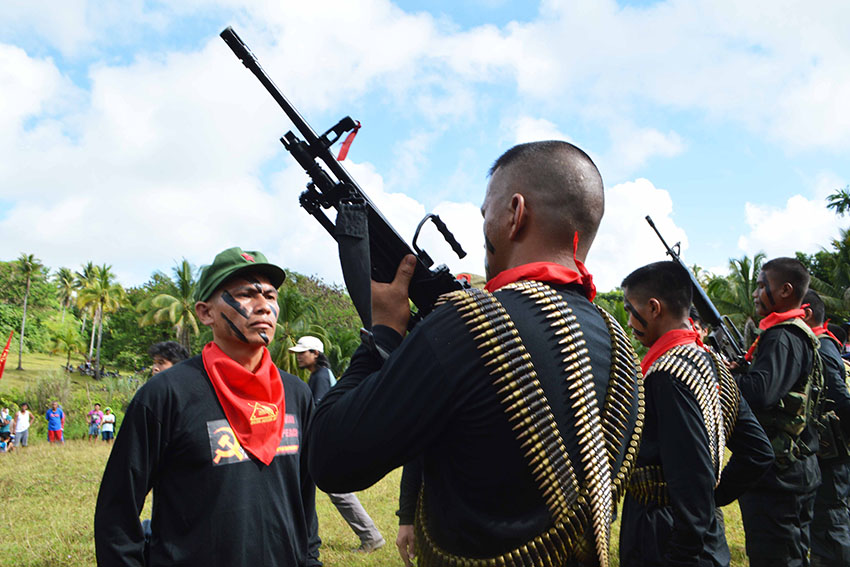 NPA asserts wounded NPA commander protected under IHL