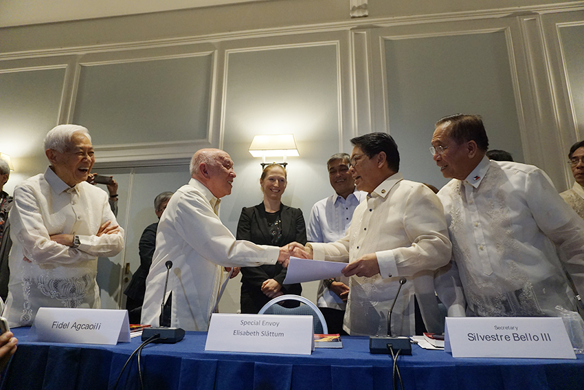 READ: Joint Statement on the successful third round of formal talks between the GRP and NDFP in Rome, Italy
