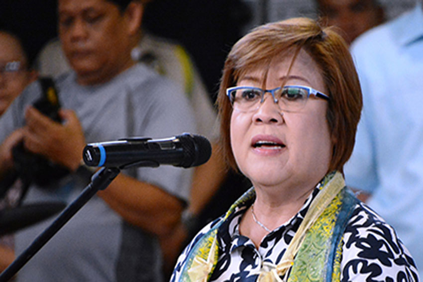 STATEMENT: Senator Leila De Lima on her arrest