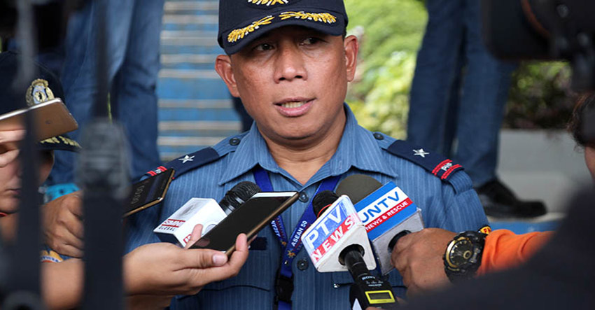 Police Chief Supt. Manuel Gaerlan of the Police Regional Office 11. (Paulo C. Rizal/davaotoday.com)