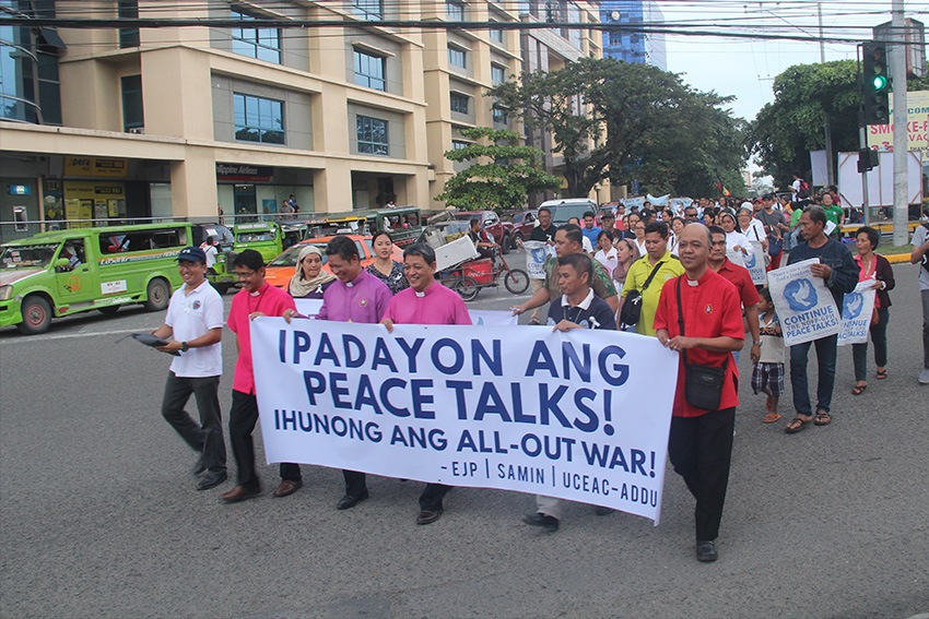 IN PHOTOS | Unity walk for peace in Davao
