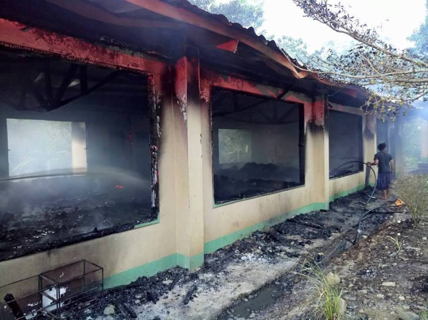 'Fake news': Bukidnon official says school burned due to short circuit