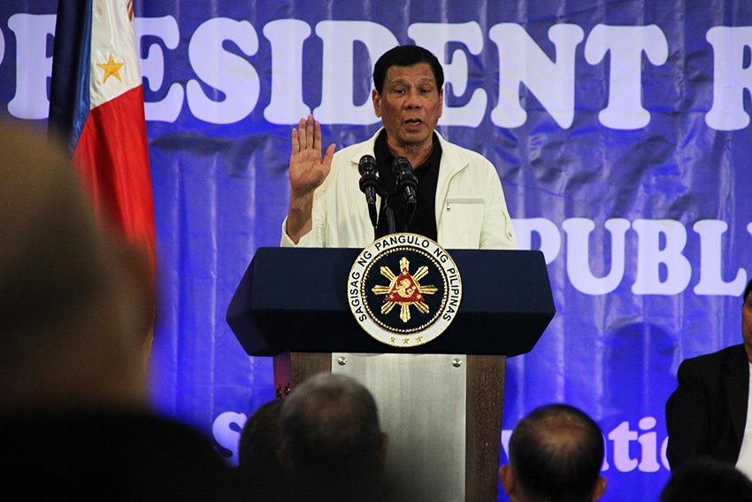 Duterte defends Gina Lopez anew; DENR chief lauds president for 'deeply caring our country'