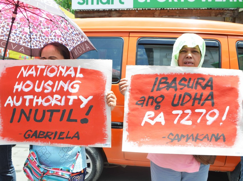 Solon wants UDHA law repealed as violent demolitions continue