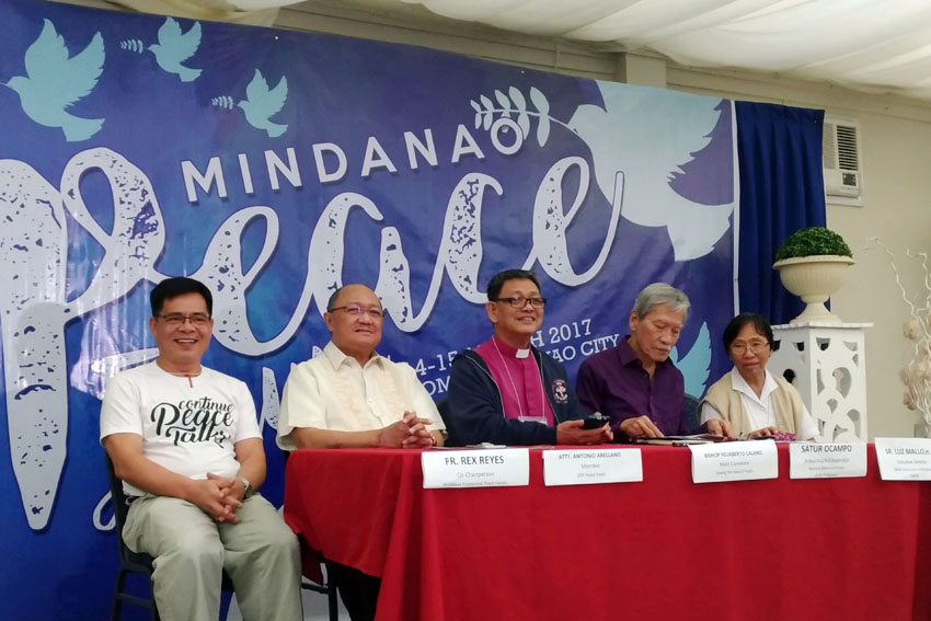 Mindanao bishop hopeful of resumption of talks between gov't, Reds