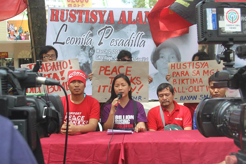 NO TO MARTIAL LAW