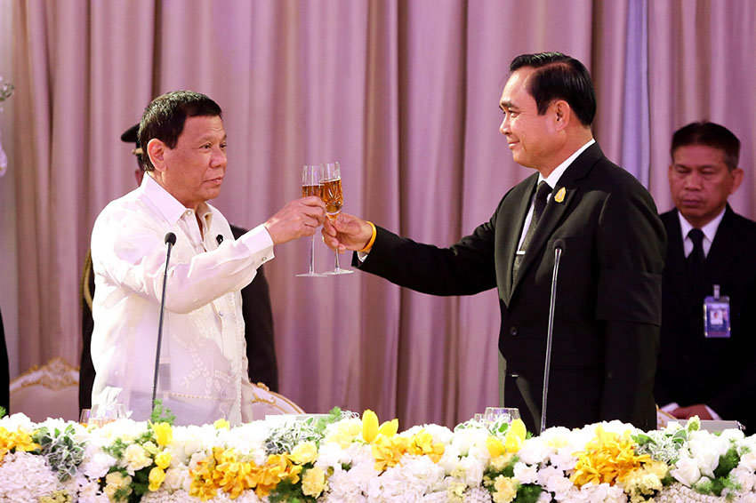 Duterte completes visit to ASEAN countries