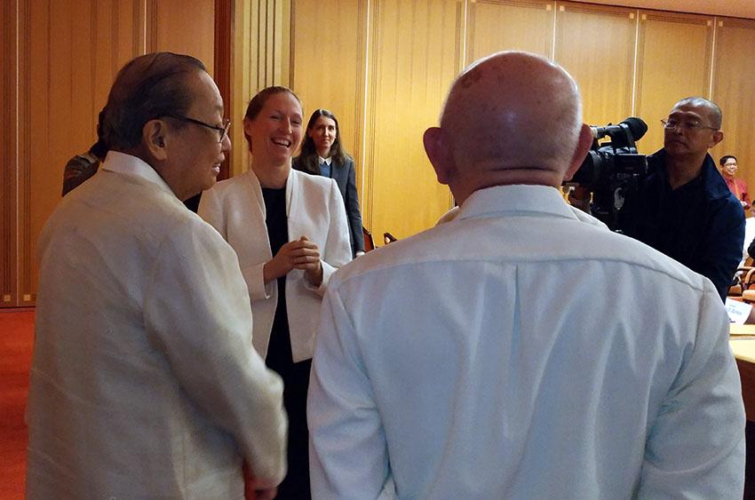 Norwegian Special Envoy lauds Filipino negotiators, Duterte for continuing talks