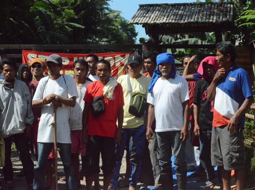 Comval banana workers launched strike vs. union-busting