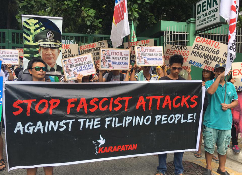 Karapatan: Only 'tyrants' will call HR group, defenders as enemy of the state