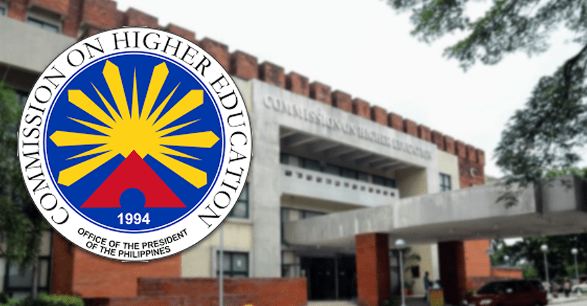 Is CHED's suspension of classes in private HEIs taking cue from Palace's order binding and legal?