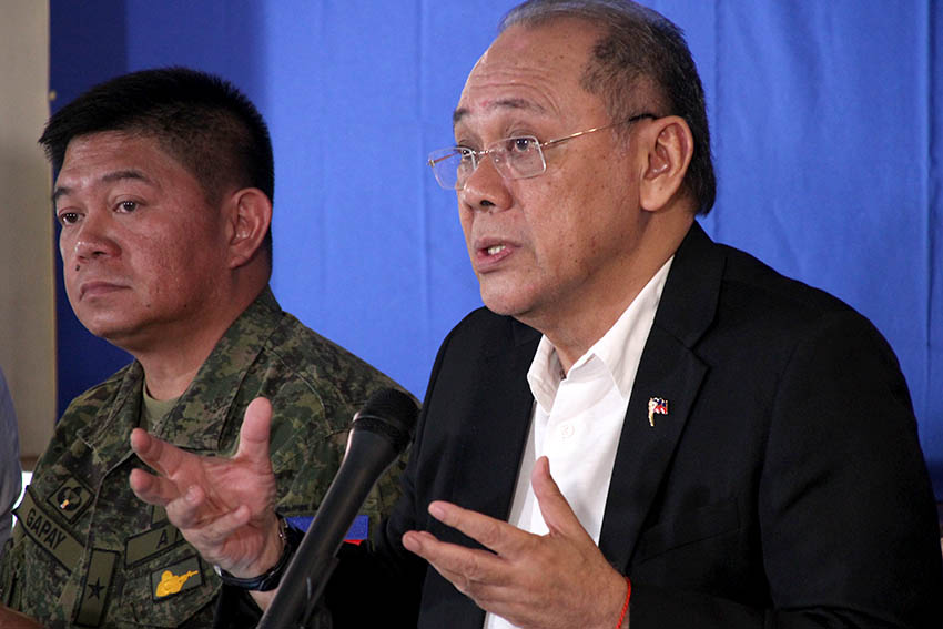 Duterte is safe from BIFF, says army spox